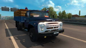 Russian trucks for Euro Truck Simulator 2