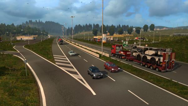 Modifications to Euro Truck Simulator 2