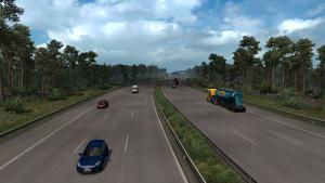 Mod Real Traffic Density and Ratio for ETS 2