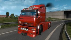 Mod KamAZ-6460 Turbo Diesel for ETS 2