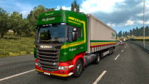 Мод Painted Truck Traffic Pack для ETS 2