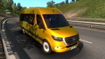 Мод Mercedes-Benz Sprinter 2019 для ETS 2