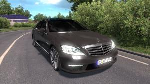 Mod Mercedes-Benz S65 AMG for ETS 2