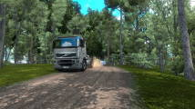 Mod Creative Zone Trucking Map for ETS 2