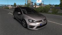 Mod Volkswagen Golf-7 R-Line for ETS 2