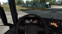 Mod Scania NextGen S - Ghost Screen for ETS 2