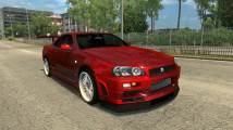 Mod Nissan Skyline R34 GT-R for ETS 2