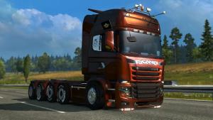 Mod Scania illegal V8 for ETS 2