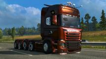 Мод Scania illegal V8 для ETS 2