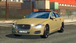 Mod Jaguar XJ for ETS 2