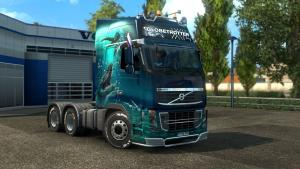 Mod Volvo FH16 2009 by Ohaha for ETS 2