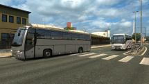 Mod Buses in traffic for ETS 2