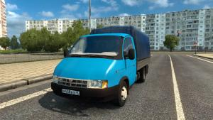 Mod Gazelle - GAZ-2705, 2784, 3302, 330202 and 33023 for ETS 2