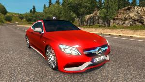 Mod Mercedes-Benz C63 AMG Coupe for ETS 2