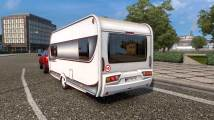 Mod Caravan Trailer - Mobile Home for ETS 2