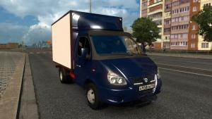 Mod GAZ-3310 - Valdai and GAZ-3302 - GAZelle for ETS 2