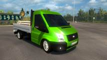 Mod Ford Transit 2010 Pickup for ETS 2