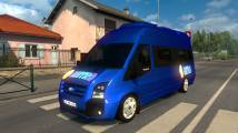 Mod Ford Transit 2010 Bus / Van for ETS 2