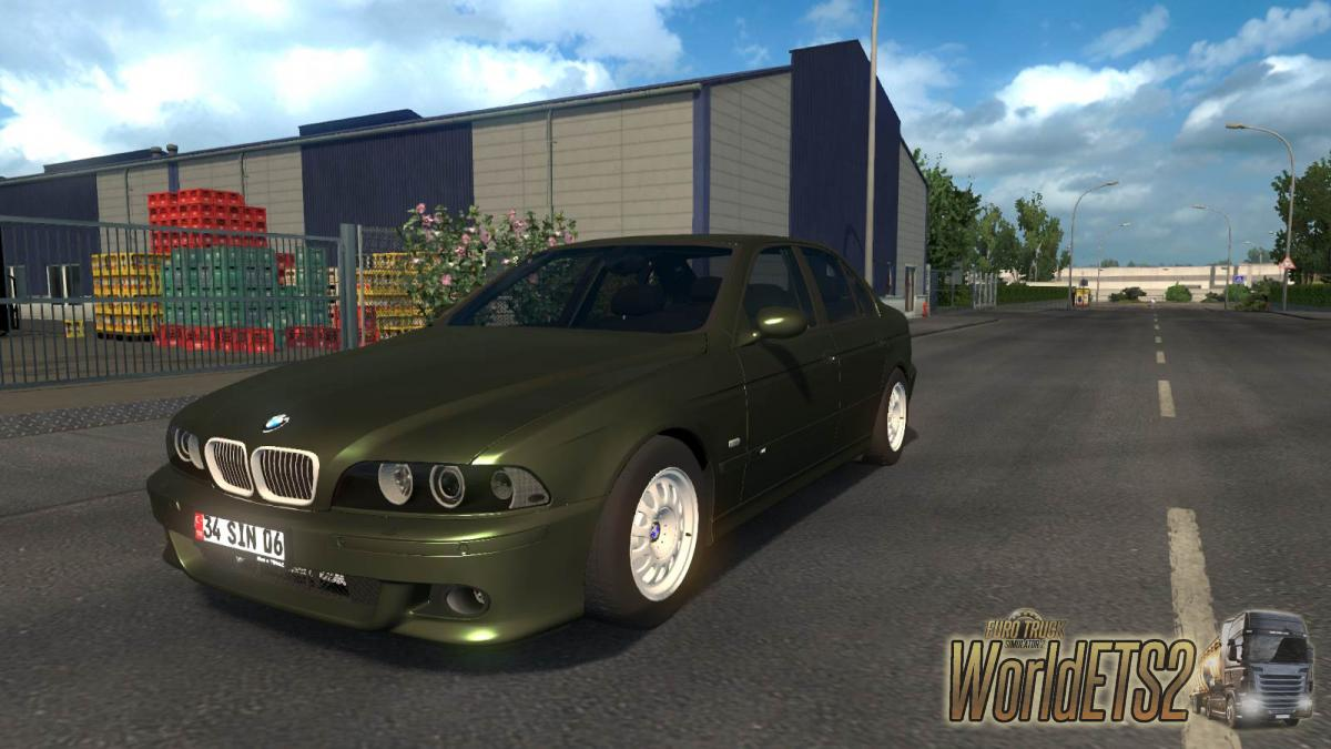 Car Bmw 5 Series E39 For Euro Truck Simulator 2
