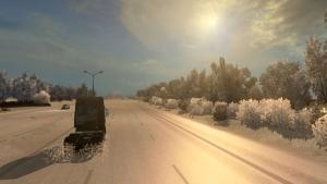 Mod Winter mod from Black Dragon for ETS 2