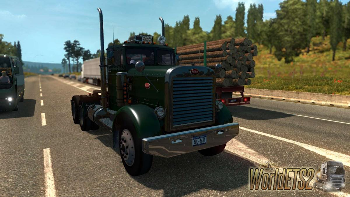 American Truck Peterbilt 351 For Euro Truck Simulator 2