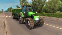 Mod Tractor with trailer for ETS 2