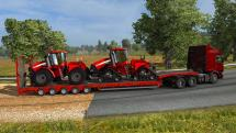 Mod Trailers with agricultural machinery for ETS 2