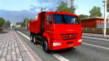 Mod KamAZ-65115 and KamAZ-65116 for ETS 2