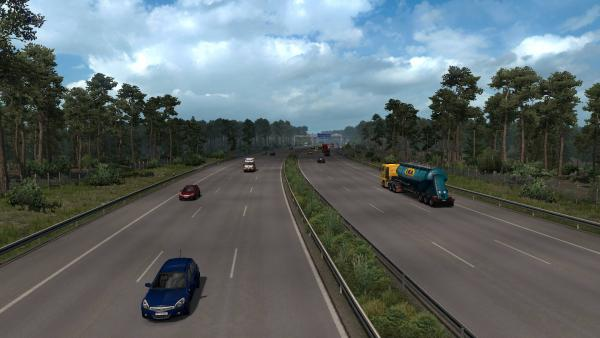 Realistic traffic density mod - Real Traffic Density and Ratio for ETS 2
