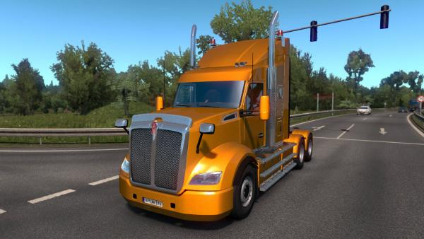 Kenworth T610 tractor mod for ETS 2
