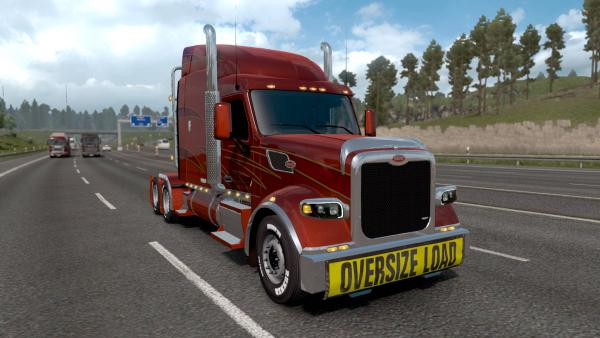 Mod truck Peterbilt 567 on the basis of the tractor for ETS 2