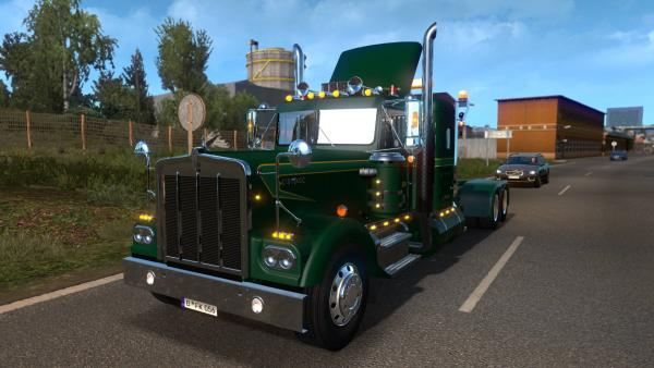 Kenworth W900A truck mod for ETS 2