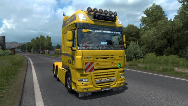 DAF XF105 upgraded standard truck mod for ETS 2