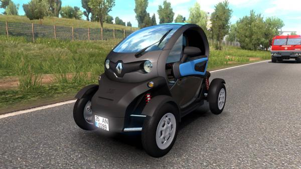 Mod electric car Renault Twizy for ETS 2