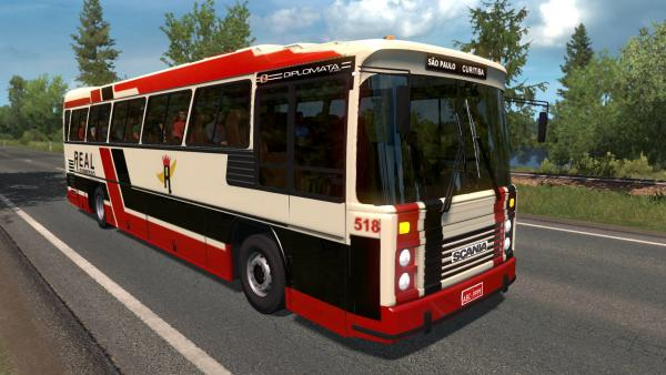 Nielson Diplomata 2.50 bus mod for ETS 2