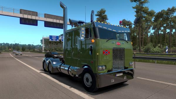 Peterbilt 352 truck mod for ETS 2