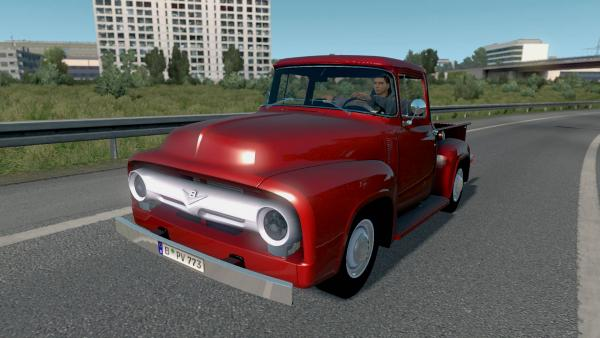Ford F-100  pickup mod for ETS 2