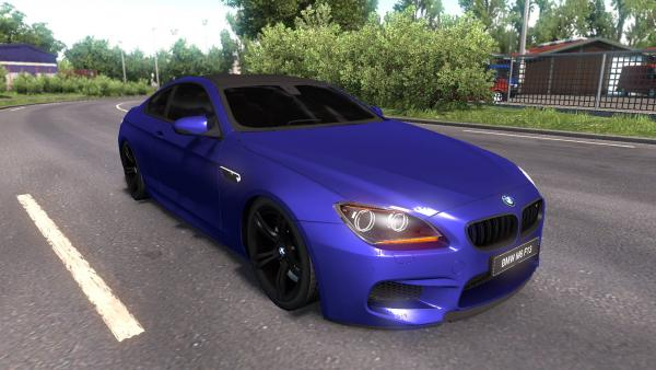 Mod passenger car BMW M6 F13 for ETS 2