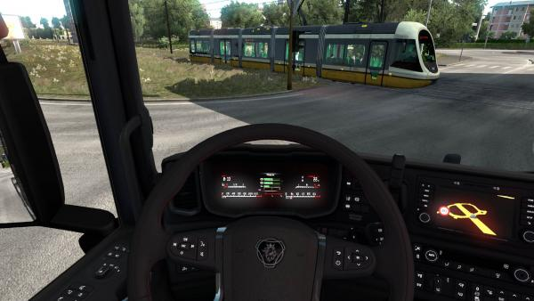 Scania NextGen S Ghost Screen Digital LED Dashboard Mod for ETS 2