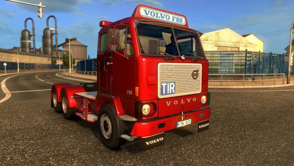 Volvo F88 truck mod for ETS 2