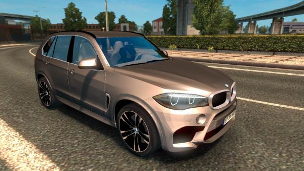 BMW X5M crossover mod for ETS 2