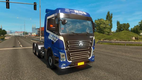Sany Truck mod for ETS 2