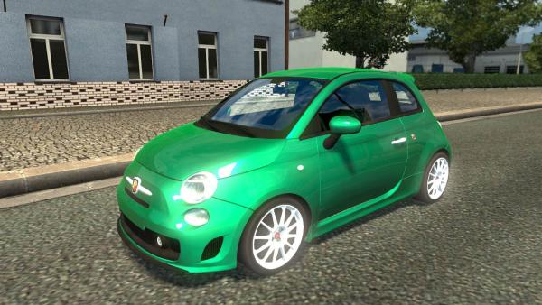 Mod passenger car Fiat 500 Abarth for ETS 2