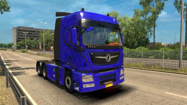 Dongfeng KX Series truck mod for ETS 2