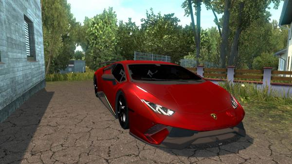 Mod elite sports car Lamborghini Huracan for ETS 2