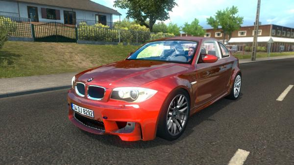 Mod passenger car BMW 1M E82 for ETS 2