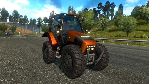 Mod tractor New Holland for ETS 2