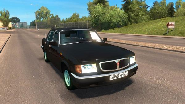 GAZ-3110 car mod for ETS 2