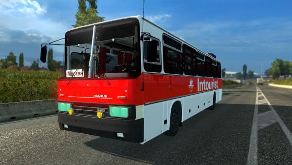Tourist bus mod Ikarus 250 for ETS 2