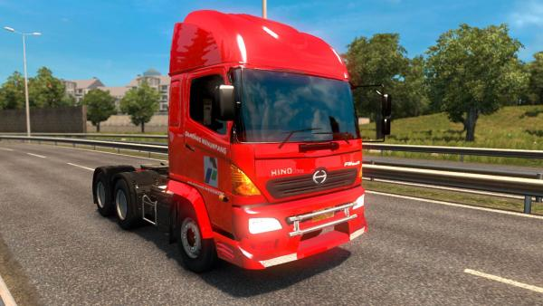 Hino Series Japanese truck mod for ETS 2